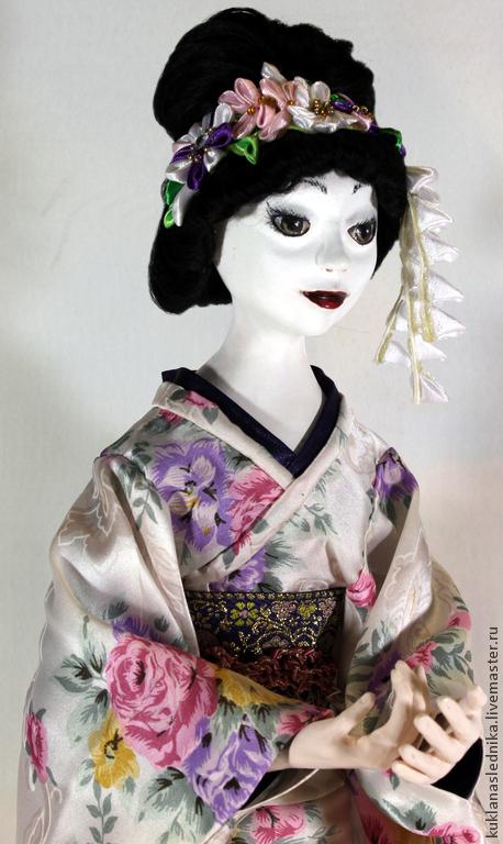 Коллекционные куклы ручной работы. Ярмарка Мастеров - ручная работа. Купить Кукла-японка, полимерная глина, Хитоми. Handmade. Япония