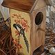 """Кухня ручной работы. домик для чайных пакетиков """"Птичий дом"""". Olesya St.. Ярмарка Мастеров. Домик для чая"""