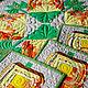 Кухня ручной работы. Заказать Набор лоскутных  салфеток для кухни Тыковки, пэчворк. Лоскутные радости (zilber-quilt). Ярмарка Мастеров.