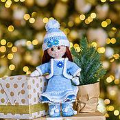 Дед Мороз и Снегурочка ручной работы. Ярмарка Мастеров - ручная работа Снегурочка. Handmade.