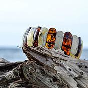 Украшения handmade. Livemaster - original item Bracelet from the Kaliningrad amber. Handmade.