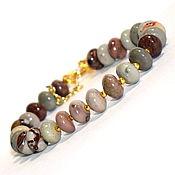 Украшения handmade. Livemaster - original item Bracelet made of natural Jasper