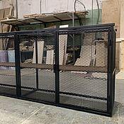 Для дома и интерьера handmade. Livemaster - original item Metal cabinet. Handmade.