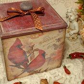 Для дома и интерьера handmade. Livemaster - original item Roomy box for the kitchen
