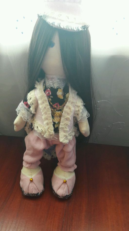 Коллекционные куклы ручной работы. Ярмарка Мастеров - ручная работа. Купить Большеножка. Handmade. Авторская кукла купить, игрушка в подарок