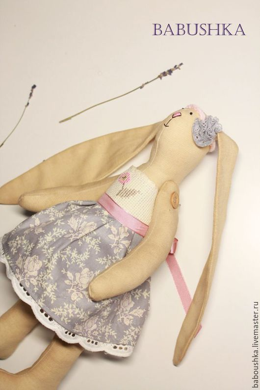 Куклы Тильды ручной работы. Ярмарка Мастеров - ручная работа. Купить Кофейная зайка - леди Тильда. Handmade. Бежевый, заяц