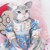 """Куклы и игрушки ручной работы. Ярмарка Мастеров - ручная работа кошечка валяная """"Муська"""" продана. Handmade."""