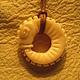"""Кулоны, подвески ручной работы. Ярмарка Мастеров - ручная работа. Купить """"УРОБОРОС"""". Handmade. Змей, подвеска, подарок девушке"""