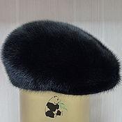 Аксессуары handmade. Livemaster - original item Cap fur Finnish mink. Mens fur soft cap CLASSIC. Handmade.