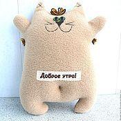 Куклы и игрушки ручной работы. Ярмарка Мастеров - ручная работа Позитивный кот. Handmade.