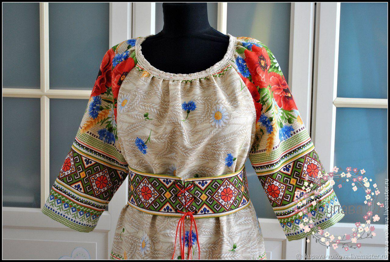 Midi dress straight Polyanochka with lace, Dresses, Anapa,  Фото №1
