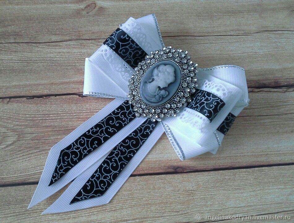 Bow-brooch with a cameo, Ties, Belgorod,  Фото №1