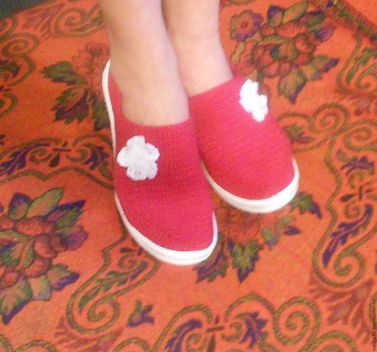 Обувь ручной работы. Ярмарка Мастеров - ручная работа. Купить Балетки. Handmade. Балетки лето, Балетки на заказ, обувь летняя