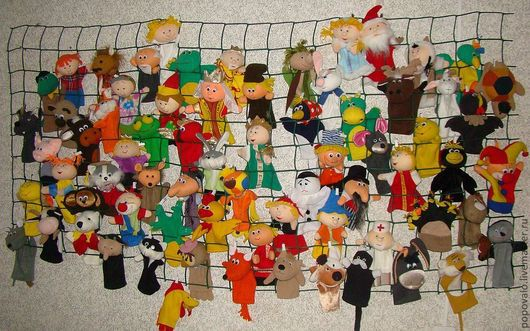 Кукольный театр ручной работы. Ярмарка Мастеров - ручная работа. Купить игрушка для кукольного театра в ассортименте. Handmade. Перчаточная кукла