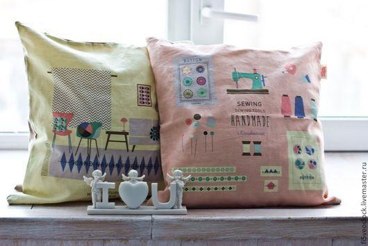 Текстиль, ковры ручной работы. Ярмарка Мастеров - ручная работа. Купить Декоративная подушка Скандинавия. Handmade. Желтый, подушка, скандинавия
