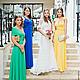 Платья ручной работы. Платья-трансформеры для подружек невесты разноцветные. Dudu-dress. Интернет-магазин Ярмарка Мастеров. длинные платья