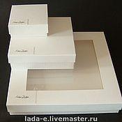 Сувениры и подарки handmade. Livemaster - original item Packing for jewelry. Handmade.