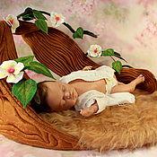 Работы для детей, handmade. Livemaster - original item Cradle the Nest - Props for photo shoots of babies.. Handmade.