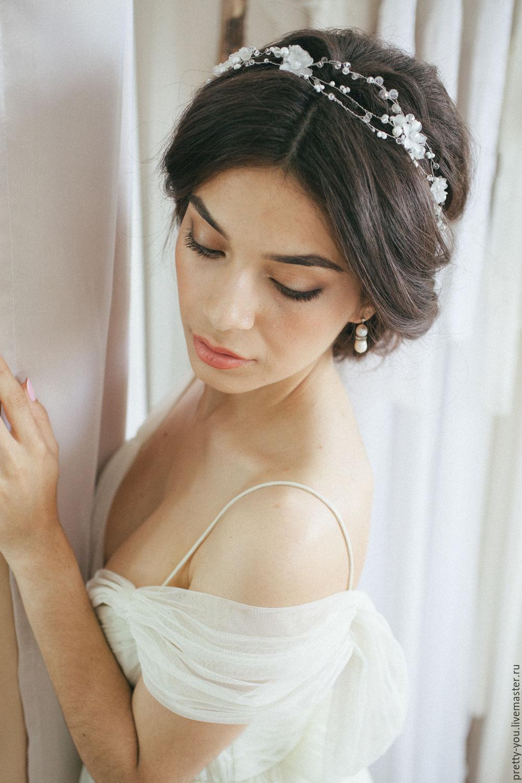 Свадебные украшения на голову невесты фото