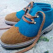 """Обувь ручной работы. Ярмарка Мастеров - ручная работа Ботинки унисекс оксворды """"Мафия"""". Handmade."""
