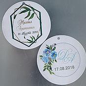 Свадебный салон handmade. Livemaster - original item Labels for party favors. Handmade.