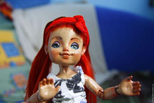 Коллекционные куклы ручной работы. Ярмарка Мастеров - ручная работа. Купить Эмми - авторская глиняная шарнирная кукла BJD. Handmade.