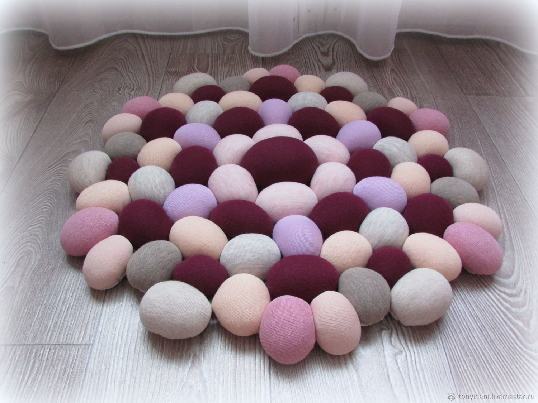 Accessories: Massage Mat textile Tenderness of lilac, Floor mats, Novouralsk,  Фото №1