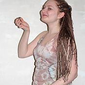 """Одежда ручной работы. Ярмарка Мастеров - ручная работа Майка """"хулиганка"""" или """"алкоголичка""""  - батик. Handmade."""