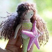 Куклы и игрушки ручной работы. Ярмарка Мастеров - ручная работа Русалочка с морской звёздочкой. Handmade.