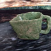 Посуда ручной работы. Ярмарка Мастеров - ручная работа Чашка-вазочка. Handmade.