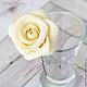 Заколки ручной работы. Шпильки с розами (средние) - Айвори кремовый. Tanya Flower. Ярмарка Мастеров. Украшение в волосы, цветы для прически