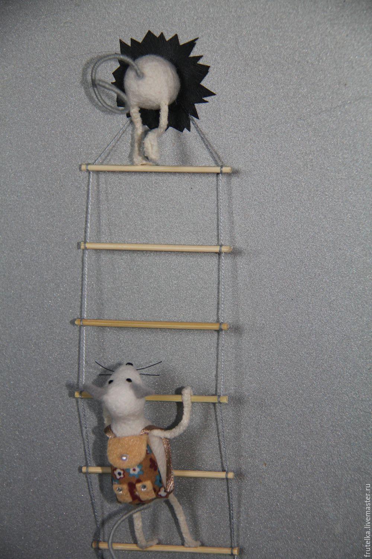 Магнит на холодильник мышки воришки мастер класс