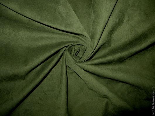 """Шитье ручной работы. Ярмарка Мастеров - ручная работа. Купить Натуральная замша """"Green""""!. Handmade. Кожа, кожа натуральная"""