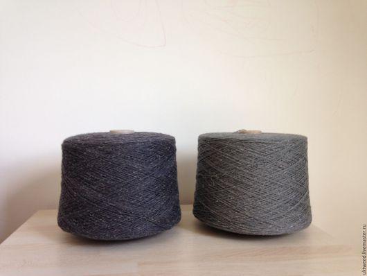 Вязание ручной работы. Ярмарка Мастеров - ручная работа. Купить Самарканд - 75% шерсть, 25% - шелк. Handmade. Серый