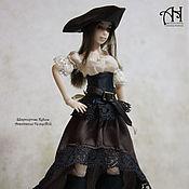 Куклы и игрушки handmade. Livemaster - original item Pirate (12,5 cm). Handmade.