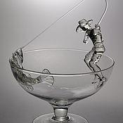 Статуэтки ручной работы. Ярмарка Мастеров - ручная работа Удачная рыбалка. Handmade.