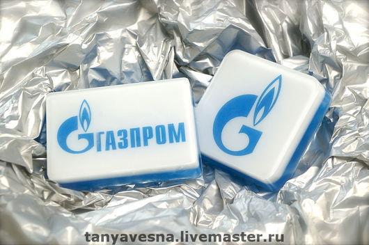 Мыло по заказу компании Газпром