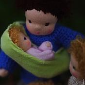 Куклы и игрушки ручной работы. Ярмарка Мастеров - ручная работа Семья:). Handmade.