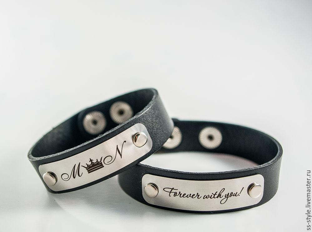 Заказать браслеты для двоих