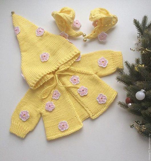 """Одежда для кукол ручной работы. Ярмарка Мастеров - ручная работа. Купить Комплект для куклы """"Эльф"""". Handmade. Салатовый, реборн, для новорожденных"""