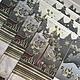 """Комплекты аксессуаров ручной работы. Ярмарка Мастеров - ручная работа. Купить """"Сказка про оленей"""" (набор из раннера и салфеток). Handmade."""