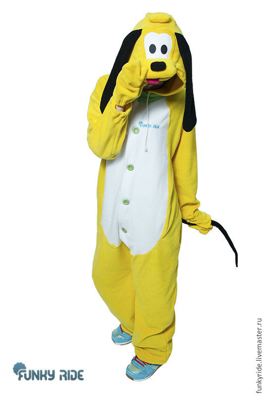 Pluto dog Kigurumi Mickey Mouse Disney - Custom Handmade, Costumes, Magnitogorsk,  Фото №1