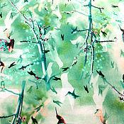 Материалы для творчества ручной работы. Ярмарка Мастеров - ручная работа Хлопок Райские птички. Handmade.