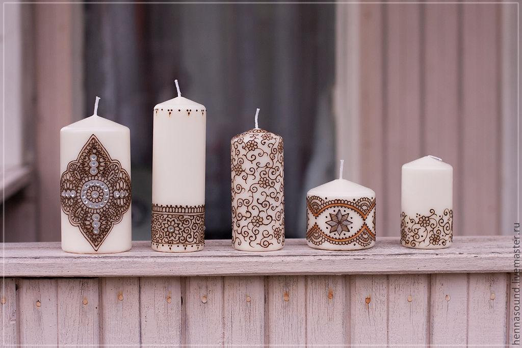 Ярмарка мастеров фото дизайнерские свечи