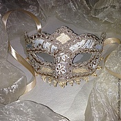 Одежда ручной работы. Ярмарка Мастеров - ручная работа Венецианская маска Коломбина № 76. Handmade.