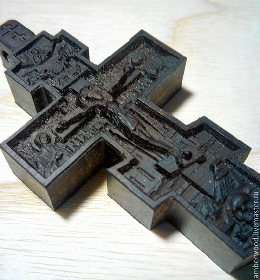 Кулоны, подвески ручной работы. Ярмарка Мастеров - ручная работа. Купить Резной деревянный крестик. Handmade. Резной крест, подвеска