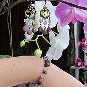 Украшения handmade. Livemaster - original item Bracelet and earrings