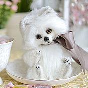 Куклы и игрушки ручной работы. Ярмарка Мастеров - ручная работа Песец на десерт :-). Handmade.