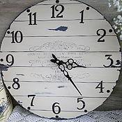 """Для дома и интерьера ручной работы. Ярмарка Мастеров - ручная работа Большие настенные часы """"Кантри"""". Handmade."""