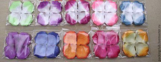 Другие виды рукоделия ручной работы. Ярмарка Мастеров - ручная работа. Купить Лепестки роз  (шелк) разноцветные. Handmade. Разноцветный